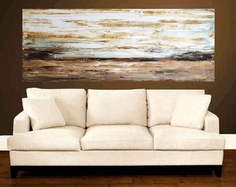 painting , orignal painting   abstract painting   landscape painting, wall art , jolina anthony signet  express shipping