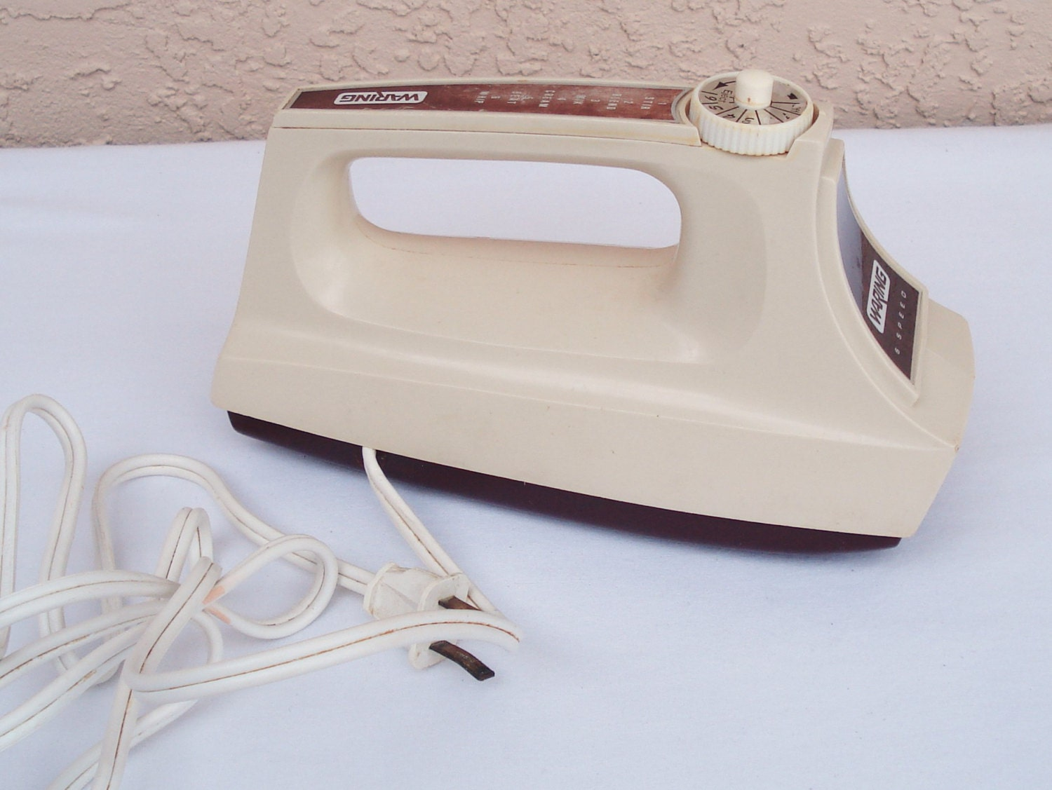 Pottery Electric Hand Mixer ~ Vintage waring speed electric hand mixer motor replacement
