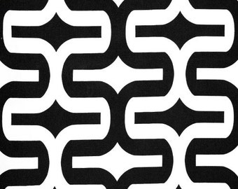 """SALE 1 Yard """"Embrace"""" Fabric in Black and White, Home Dec Fabric, Premier Prints, 54"""" Wide"""