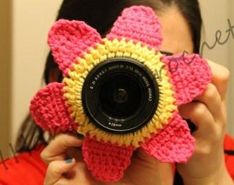 INSTANT DOWNLOAD Flower Camera Buddy PATTERN