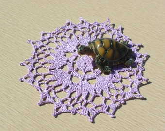 Crocheted Pixie Doily - You Pick the Color
