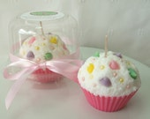 Sweet Spring Cupcake Candle - Your Choice of Scent
