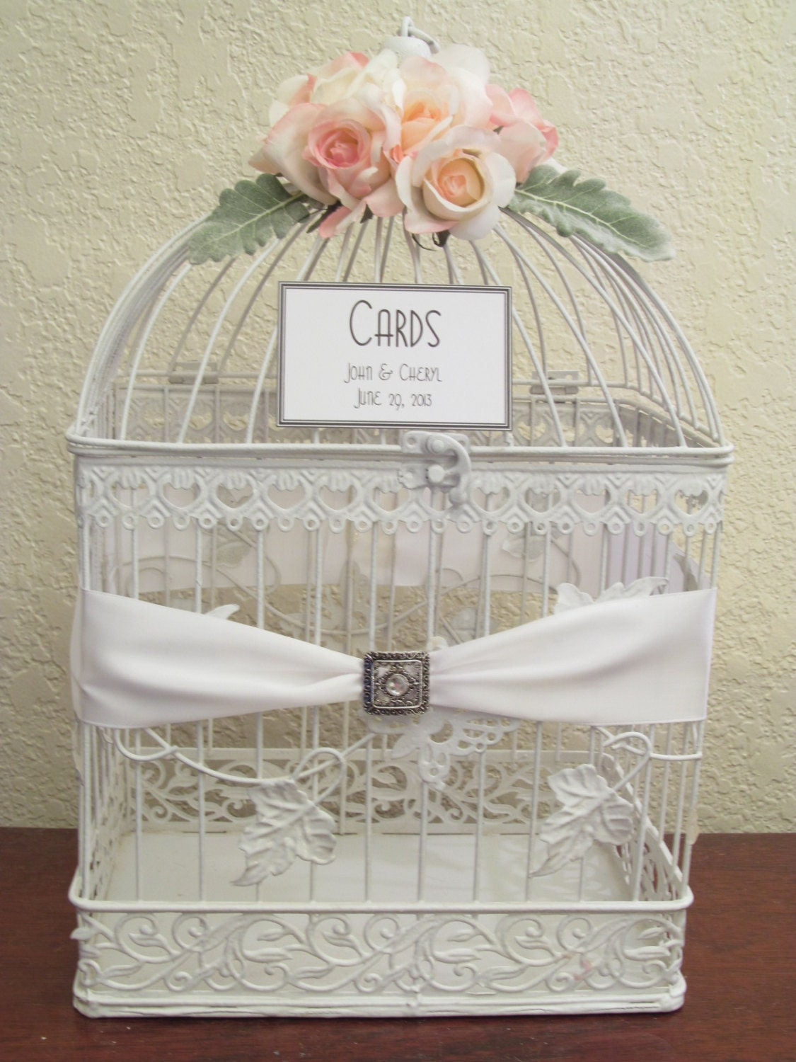 Etsy your place to buy and sell all things handmade vintage and supplies - Decoration cage oiseau ...