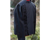 buckle Cavalry shirt .  cyberpunk steampunk punk punk goth shirt jacket Unisex.
