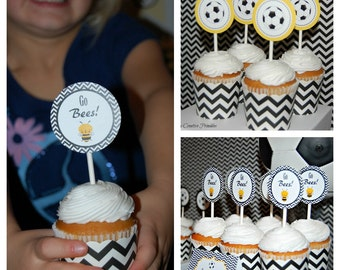 Soccer Themed Party Printables