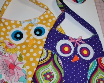 pdf Owl Tote Bag Kid's Sewing Pattern
