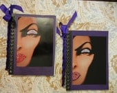Reserved: Evil Queen Spiral Bound Autograph Notebooks for Mandy Set of 2
