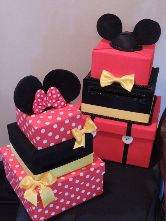 Mickey Mouse Card Box Mickey Mouse Party By