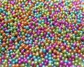 summer fun .5mm kawaii sprinkles micro marbles caviar nail art metallic mix microbeads for nail deco scrapbooking or miniature sweets