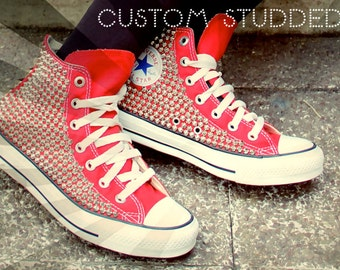 Studded Converse High Top
