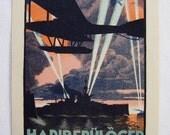 Hadirepülogép Kiállítás 1917 Lithograph Poster Zombori Moldován Béla Military Aircraft Exhibition War Planes Globus Budapest First World War