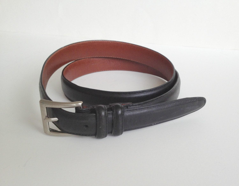 Coach Mens Belt Black Leather 36 Inch Belt Men S Coach