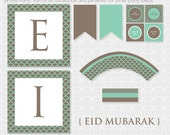 DIY EID Mubarak Party Theme  - Instant Download