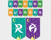 DIY Ramadan Mubarak Banner - Instant Download