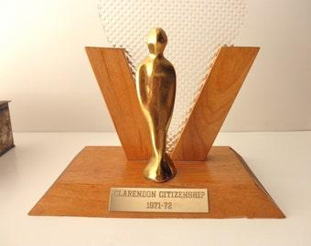 Vintage Trophy 1970s - citizenship