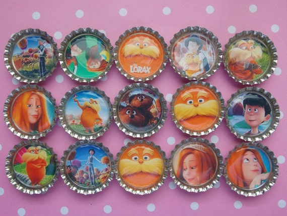 In Style Party Favors: The Lorax Style Magnets Party Favors Set Of By