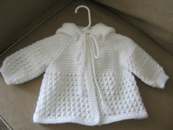 White Sweater For Baby Girl 35