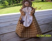 Country Standing Angel Doll