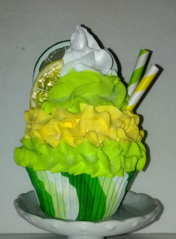 Items Similar To Lemon Lime Twist Fake Cupcake Photo Prop