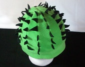 Spiny Green Cactus Hat - All Sizes - Custom Colors