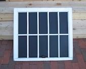 10 Pane Vintage Window Chalkboard
