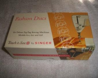 Singer Touch & Sew Fashion Discs