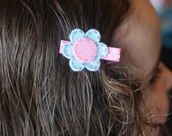 Flower Hair Clip- Meet Miss May