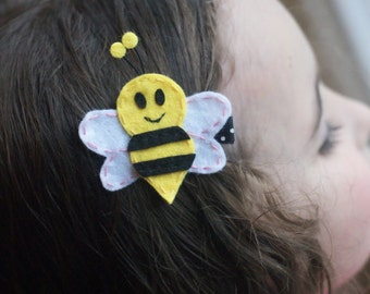 Bee Hair Clip- Meet Miss Buzz