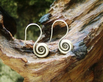 Silver Earrings - The Spiral of Life (3)