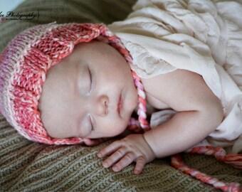 Sweet little summer bonnet