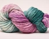 Thick and Thin Merino Yarn Slub Hand Dyed TTS 44tts13028 Stripey 18