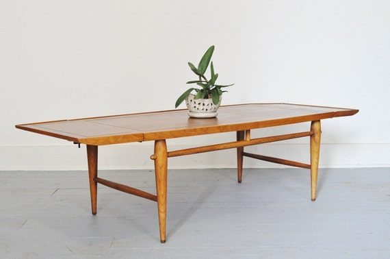 Mid-Century Drop Leaf Lane Coffee Table