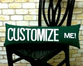 Street Sign Pillow Customize Me You Pick the Street or Any Other City at no Extra Cost