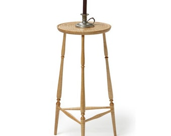 Windsor-style candlestand