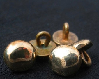 Bronze medieval buttons