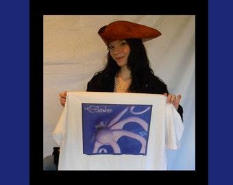 Elstwhen Mens Long-sleeve Belize Kraken T-Shirt
