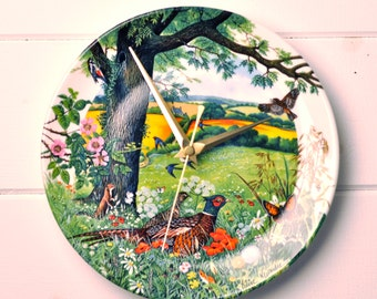Pheasant Plate On Etsy A Global Handmade And Vintage
