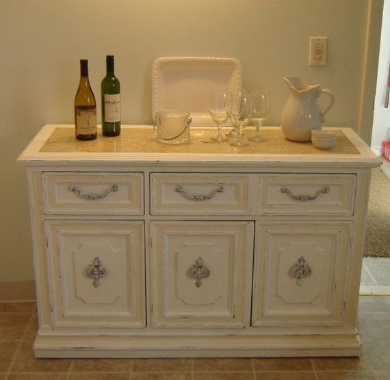 Reserved for cara white shabby chic furniture buffet - White shabby chic furniture ...