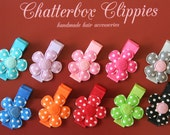 Baby Hair Clips Baby Barrettes Toddler Hair Clips Girls Hair Clips Baby Hair Bows Flower Hair Clips