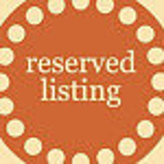 """Reserved for (alliepazar1) - 30  count  1/5""""  custom circle tags with  2."""" red scallops frames"""