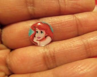 Princess Ariel Little Mermaid Inspired Earrings