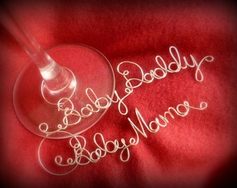 Father's Day New Dad Gift, Wine Charm Set