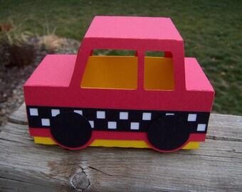 Car Favor Box Set of 10
