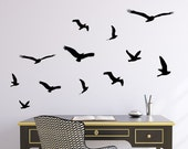 Flying Birds Set of 12 Wall Decal Decal Sticker