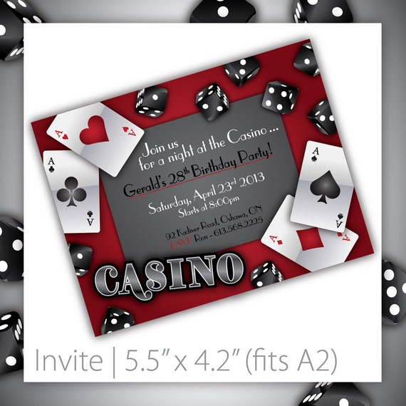 casino invitation