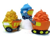 Construction Cupcake Wrappers - set of 12