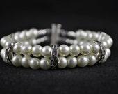 Bridal Bracelet - Bridesmaid Bracelet - Mother of The Bride Bracelet - Prom Bracelet