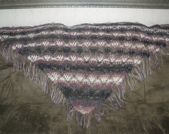 "Handmade crochet shawl,wrap "" GRAPE"" -It is super trendy way to stay warm."