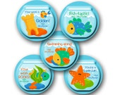 FISHBOWL Personalized stickers for Teachers