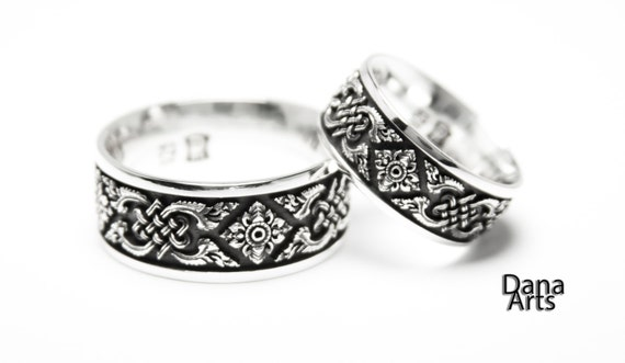 Matching wedding bands - Celtic Knot
